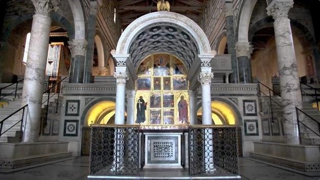 Chapel of the Crucifix, San Miniato al Monte, Florence, Italy