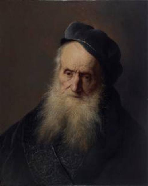 Tronie of an Old Man by Jan Lievens, c.  1629.