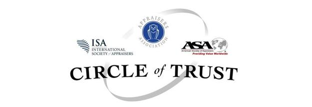 Circle of Trust: The American Society of Appraisers, the Appraisers Association of America, and the International Society of Appraisers