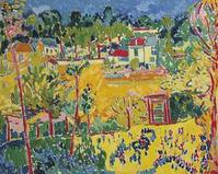 """""""Paysage de banlieue"""" by Maurice de Vlaminck brought $22.5 million at Christie's on May 4."""