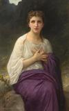 William Adolphe Bouguereau, Psyche, sold for $514,000 at Leslie Hindman Auctioneers.