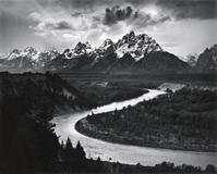 Ansel Adams's The Tetons and the Snake River, Grand Teton National Park, Wyoming (lot 158, $35,000 to $45,000)