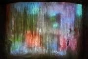 Daniel Phillips, Ice Cave, 2012 video projection onto ice Courtesy of the artist and Dodge Gallery, New York, NY