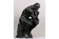 "Rodin's ""The Thinker"" of 1906, estimated to bring $8-12 million, fetched $15 million at Sotheby's on May 7, 2013."