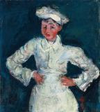 Soutine's portrait of a pastry chef, circa 1927, brought $18 million at Christie's on May 8, 2013.
