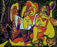 Pablo Picasso's Déjeuner sur l'herbe, 1962.