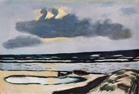 Max Beckmann, Meeresstrand, 1935