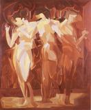 "Manierre Dawson - ""Meeting (The Three Graces)"""
