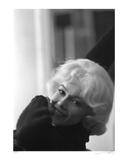 """This beautiful candid of Monroe was taken in 1960 behind the scenes of """"Let's Make Love"""""""