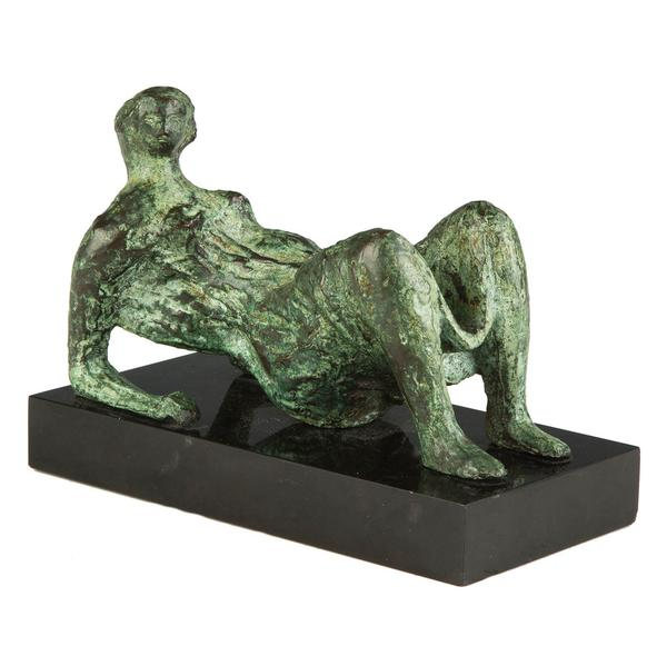 Henry Moore's Reclining Figure (circa 1935-1936), the first work by the British sculptor to enter the collection of an American art museum.