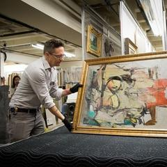 University of Arizona Museum of Art in Tuscon will once again display de Kooning's Woman-Ochre after a restoration and exhibit at the Getty.  The painting was stolen in 1985, and found in 2017 at an estate sale.