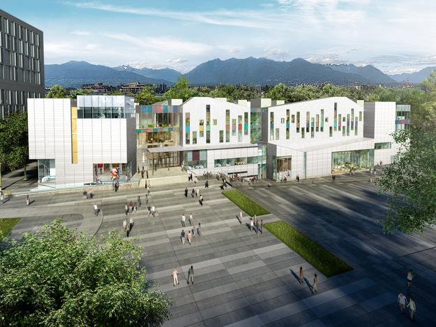 The new campus of Emily Carr University is set to open in fall 2017.
