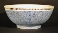 A Charming English Pottery Mocha Bowl, Circa 1800