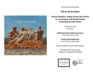 1.21 - Art of the Figure panel with Vincent Desiderio, Natalie Frank, Donald Kuspit, Alexi Worth, moderated by Peter Drake