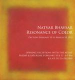 "Natvar Bhavsar ""SWAHAA II"", 2011"