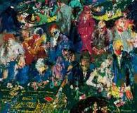 This early 1958 painting by LeRoy Neiman is expected to fetch $150,000-$250,000.