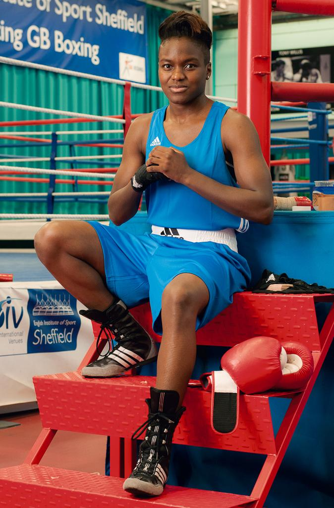 Nicola Adams by Anita Corbin