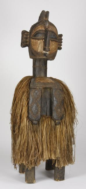This Nimba headdress from Baga, the Republic of Guinea, 70 inches tall, will be sold Aug.  23-24 in Atlanta.