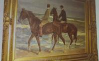 "The recently rediscovered ""Riders on the Beach"" by Max Liebermann"