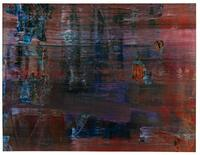 Gerhard Richter, Abstrakts Bild, sold for the artist's auction record of $20.8 million at Sotheby's.