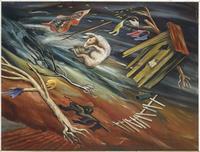 Hale Woodruff's Big Wind in Georgia, 1933.
