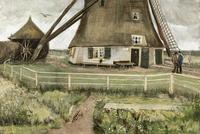 """Vincent Van Gogh's """"Le Moulin"""", circa 1881-1882."""