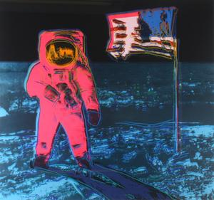 Warhol's Moonwalk set a new record at $120,000, the highest price achieved yet at auction for this work, well above its $40,000 – $60,000 estimate.