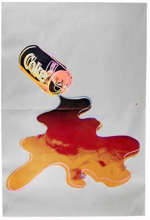 Andy Warhol's New Coke from 1985 is to be sold at Bonhams Prints and Multiples sale in London on December 9, 2014.