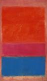 """No.  1 (Royal Red and Blue),"" a 1954 Mark Rothko oil, brought $75.1 million at Sotheby's."