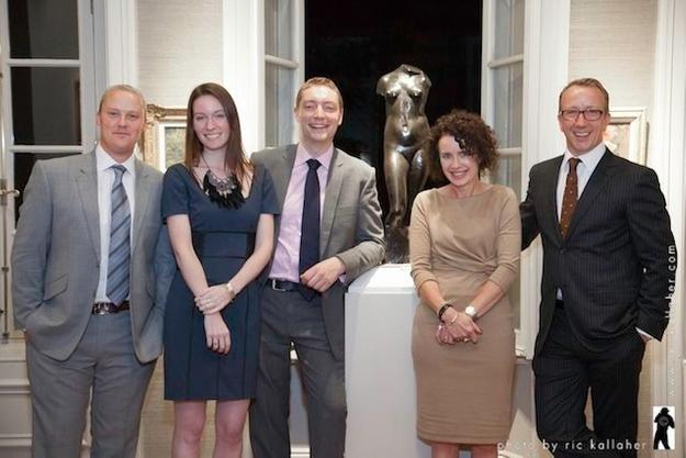 The Trinity House team includes Gavin Baldwin, Meghan McGavin, Steven Beale, Tara Hanks and Simon Shore.