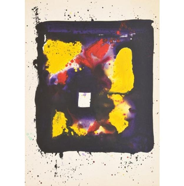 Sam Francis Painting, Original Work, Estimate $70,000-90,000