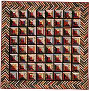 Straight Furrow Quilt from FISHER HERITAGE.
