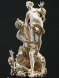Pluto and Proserpina, by Matthias Steinl, an Imperial Court sculptor in Vienna (1643/44-1727) and one of the greatest ivory carvers of all time.