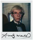 Lot 241, Andy Warhol.  Polaroid