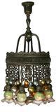 Tiffany chandelier in Fuller's Dec.  4 auction.