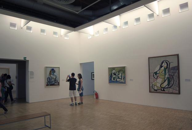 Works by Picasso on view at Centre Pompidou