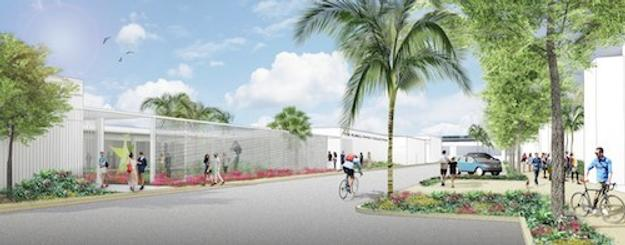Rubell Family Collection.  New museum in Allapattah District of Miami designed by Selldorf Architects, Exterior view