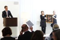 In Munich, Ketterer Kunst sold Eduard von Grützner's Stillleben mit Pfingstrosen for € 62,000.