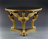 THE BUCKINGHAM PALACE CENTER TABLE ATTRIBUTED TO GEORGE MORANT AND SONS, English, circa 1840.