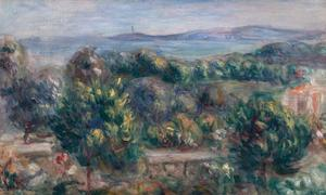 Renoir, Paysage, from Waterhouse & Dodd.