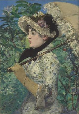Spring (Le Printemps), 1881 by Manet.