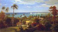 Albert Bierstadt, View of Nassau, Bahamas.