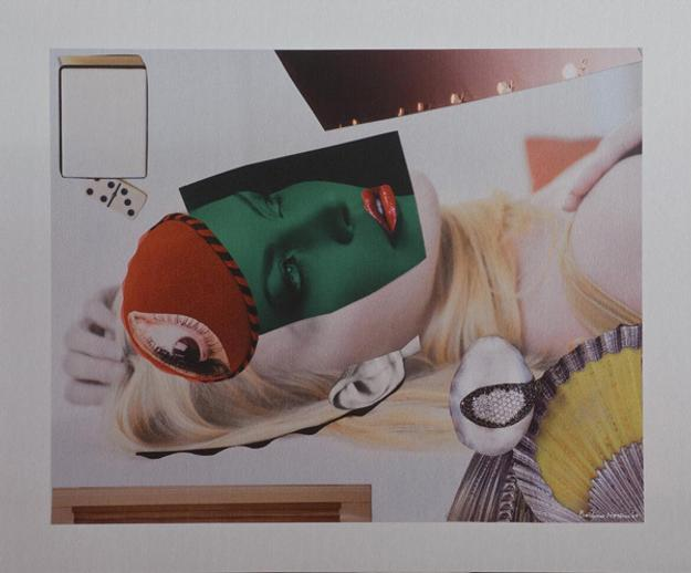 Barbara Nessim, Runway Runner 2009, digital print on aluminum, 35 x 42 in.