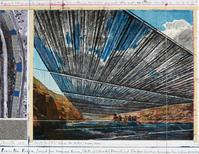 "Rendering of ""Over the River"" by Christo.  (Photo: Wolfgang Volz, copyright Christo 2010)"