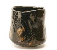 """Raku IX Ryonyu (1756-1834), Tea bowl, """"Nukumori"""", 1788-1811"""