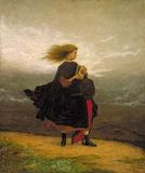 Eastman Johnson, The Girl I Left Behind Me, 1870-1875, Smithsonian American Art Museum, Museum purchase made possible in part by Mrs.  Alexander Hamilton Rice in memory of her husband and by Ralph Cross Johnson.