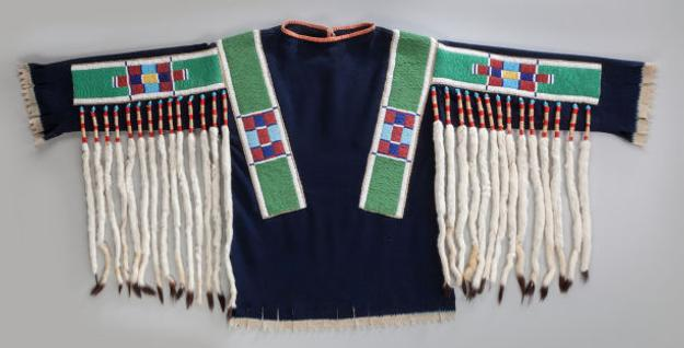 Plateau Pony Beaded Hide Dress may bring $20,000 at Heritage.