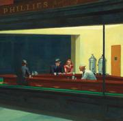 Edward Hopper, Nighthawks.  Art Institute of Chicago.