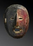 Shamanic Mask, Middle Hills Nepal 19th/early 20th Century 12 inches.  Courtesy of Tom Murray