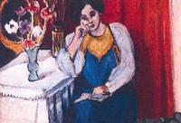 "Detail of Matisse's ""Reading Girl in White and Yellow,"" 1919, stolen from the Triton Foundation Collection during a special exhibition at the Kunsthal Museum in Rotterdam, the Netherlands."